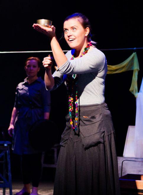 """The Snow Spider"" Tristan Bates/Oval House Theatre (Delyth Jones)"