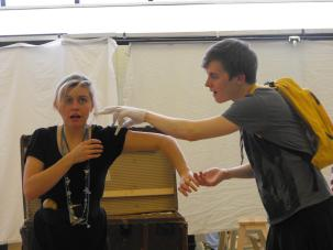 """The Snow Spider"" Tristan Bates/ OvalHouse Theatre (Delyth Jones)"