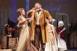 A Rose Theatre Kingston Production of A Christmas Carol By Charles Dickens Adapted and directed by Ciaran McConville Cast Martin Ball Elisa Boyd Tomm Coles Bob Cratchit Paul Hawkyard Anthony Hunt Anne-Marie Piazza Jon Trenchard