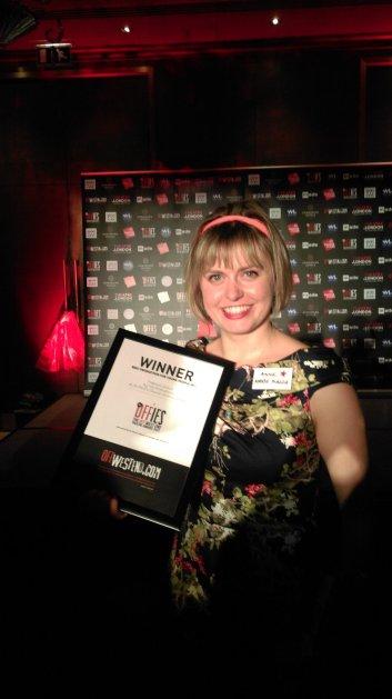 Treasure Island Off West End Award win